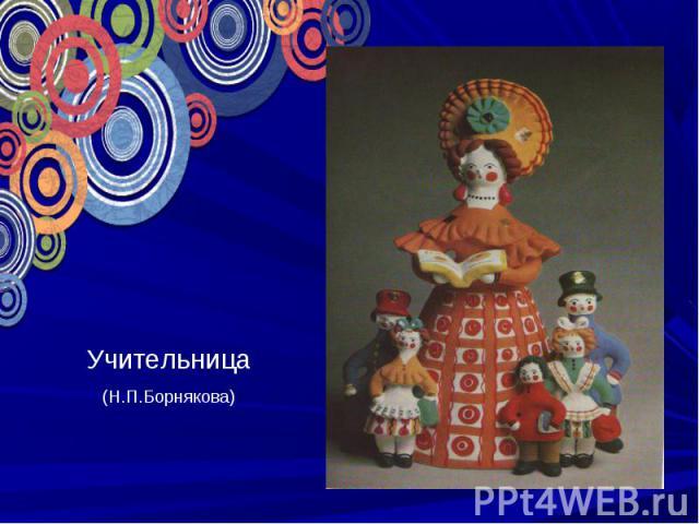 УчительницаН.П.Борнякова