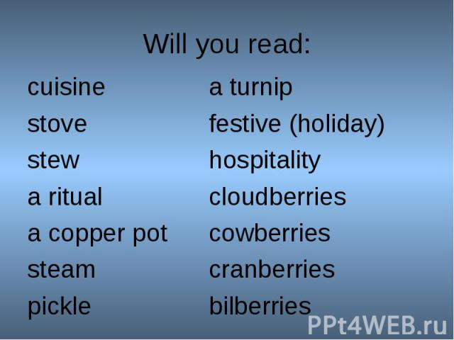 cuisinea turnip cuisinea turnip stovefestive (holiday)stewhospitalitya ritualcloudberries a copper potcowberries steamcranberriespicklebilberries