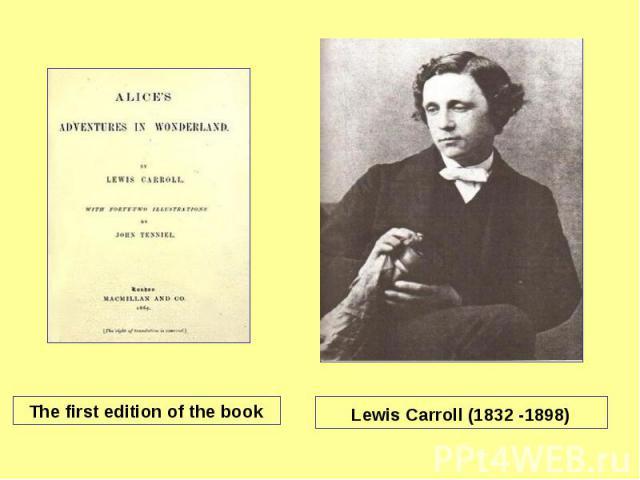 a biography of lewis carroll a novelist