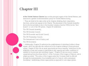 of theUnited Nations Charterlays out the principal organs of theUnited Nation