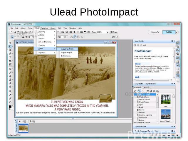 Ulead PhotoImpact