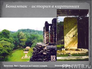 Бонампак - история в картинкахБонампак. Вид с Акрополя на Главную площадь Бонамп