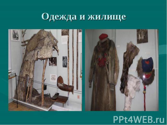 Одежда и жилище