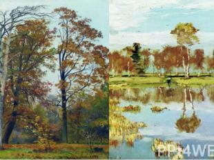 Русские художники-пейзажисты XIX и XX веков создали множество картин, ставших ше