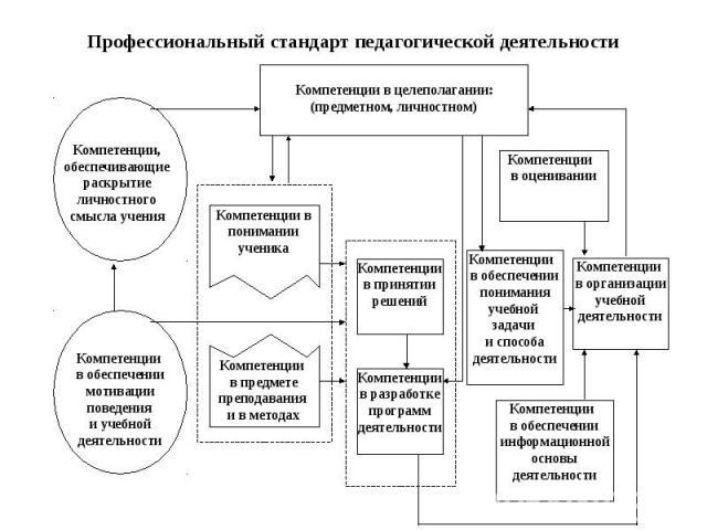 Профессиональный стандарт педагогической деятельности
