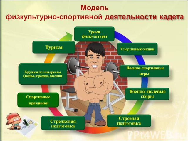 Модель физкультурно-спортивной деятельности кадета