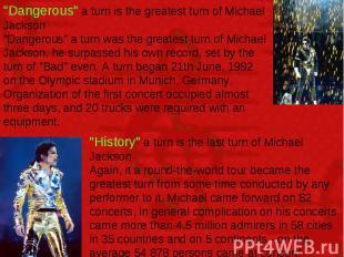 """Dangerous"" a turn is the greatest turn of Michael Jackson ""Dangerous"" a turn wa"