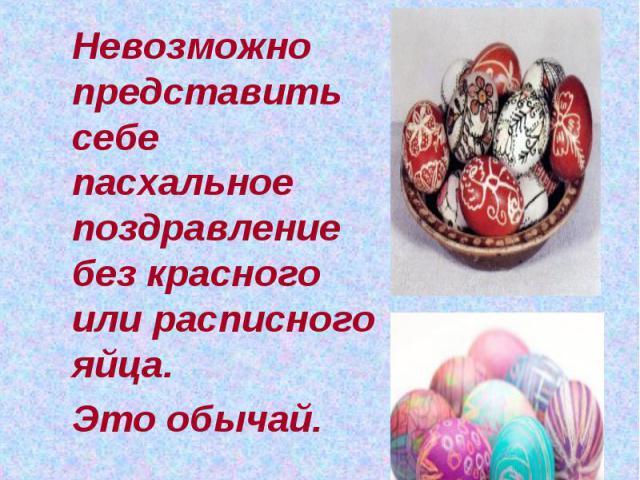 Что подарить на Пасху? Невозможно представить себе пасхальное поздравление без красного или расписного яйца. Это обычай.