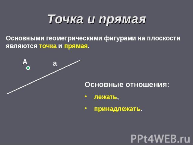 Реферат основные свойства геометрических фигур на плоскости 80