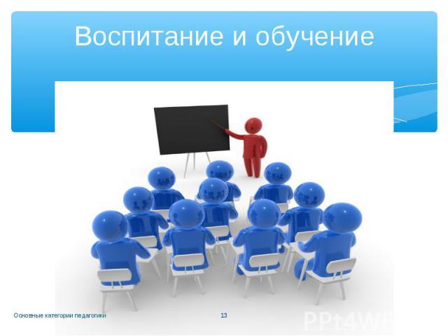 Воспитание и обучение