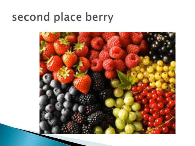 second place berry