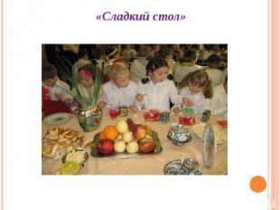 «Сладкий стол»