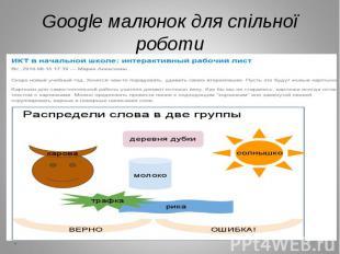 Google малюнок для спільної роботи