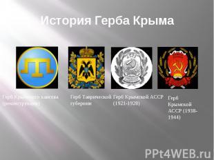 История Герба Крыма