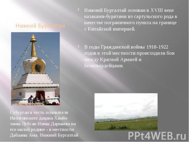 Нижний Бургалтай