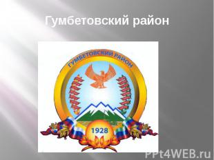 Гумбетовский район