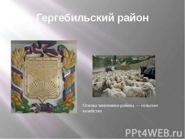 Гергебильский район