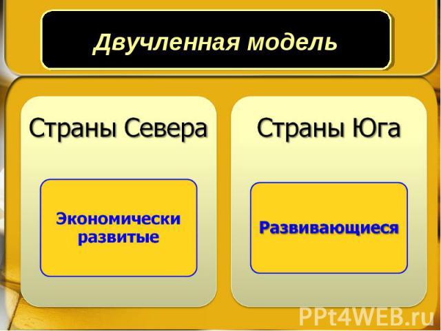 Двучленная модель