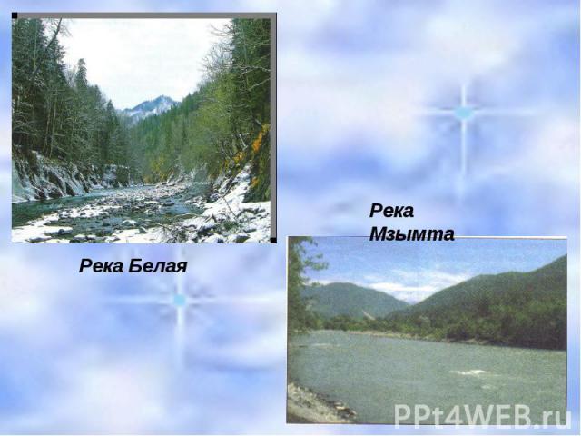 Река Белая Река Мзымта