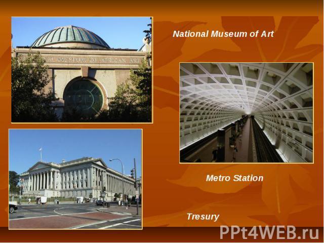 National Museum of Art Metro Station Tresury