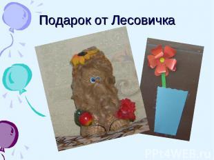 Подарок от Лесовичка