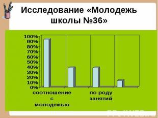 Исследование «Молодежь школы №36»