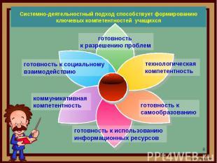 Системно-деятельностный подход способствует формированию ключевых компетентносте
