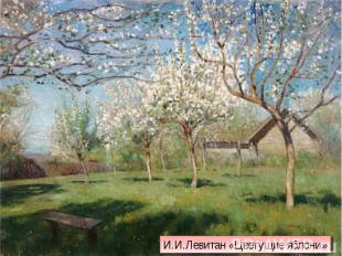 И.И.Левитан «Цветущие яблони»