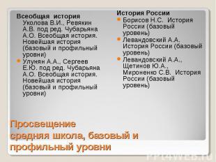 Всеобщая история Уколова В.И., Ревякин А.В. под ред. Чубарьяна А.О. Всеобщая ист