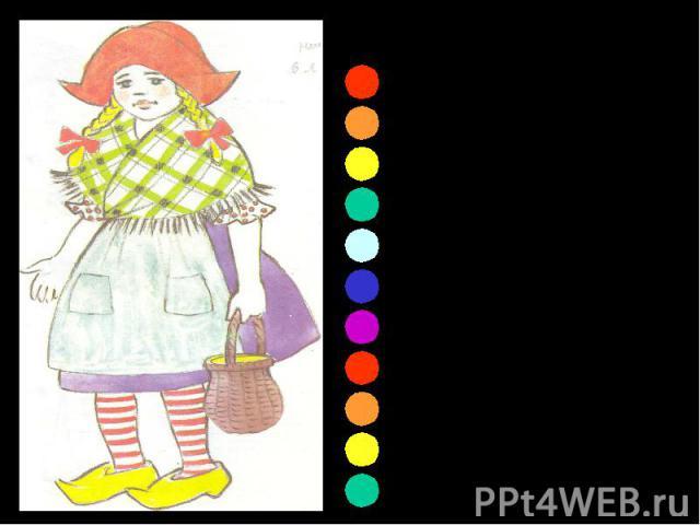 Солнышко в Голландии Редко греет ласково. Носят туфельки сабо Девочки голландские. Носят в дни дождливые, Носят в дни туманные С давних пор в Голландии Туфли деревянные. На кого похожа девочка из Голландии? ПОЧЕМУ ВЫ ТАК ДУМАЕТЕ?