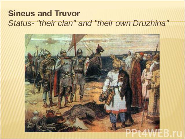 Sineus and Truvor Status-