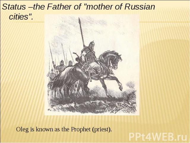 Status –the Father of
