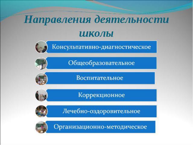 Направления деятельности школы