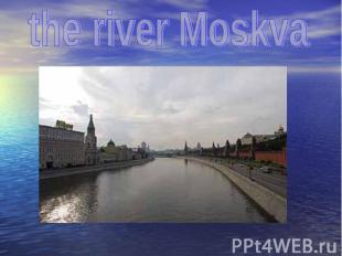 the river Moskva