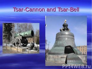 Tsar-Cannon and Tsar-Bell