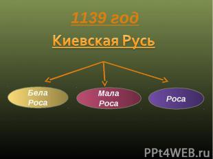 1139 год Киевская Русь