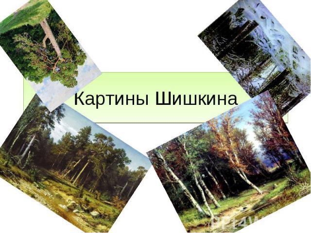 Картины Шишкина