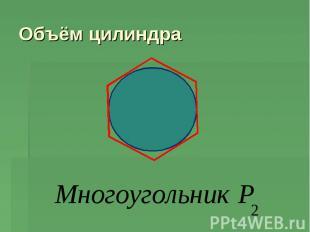 Объём цилиндра