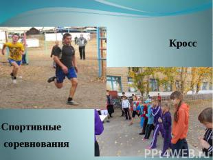 Кросс Кросс Спортивные соревнования