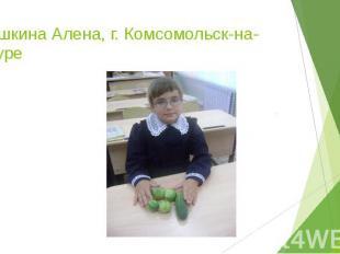Шишкина Алена, г. Комсомольск-на-Амуре