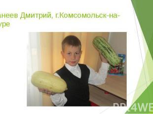 Иванеев Дмитрий, г.Комсомольск-на-Амуре