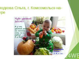 Солодкова Ольга, г. Комсомольск-на-Амуре
