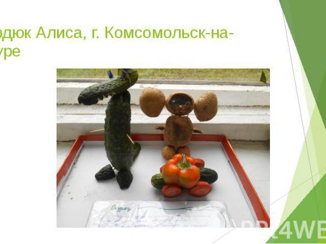 Сердюк Алиса, г. Комсомольск-на-Амуре