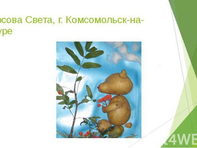 Фурсова Света, г. Комсомольск-на-Амуре