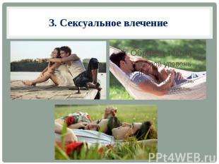 3. Сексуальное влечение