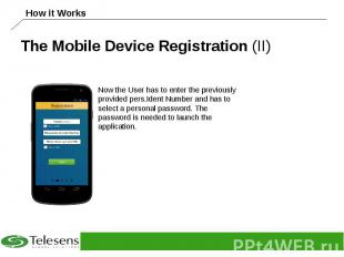 The Mobile Device Registration (II)