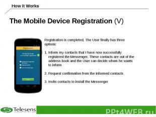 The Mobile Device Registration (V)
