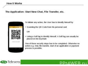 The Application: Start New Chat, File Transfer, etc.