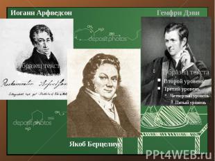 Иоганн Арфведсон Иоганн Арфведсон