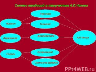 Синтез традиций в творчестве А.П.Чехова